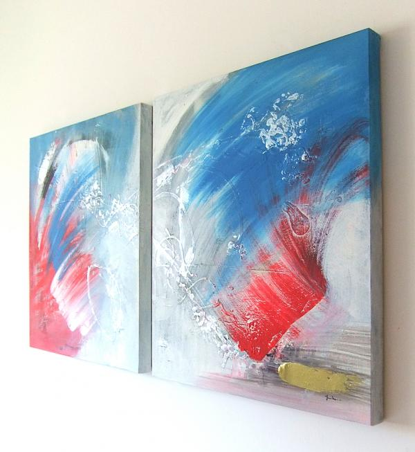 Tele Dipinte Moderne.Pittura Astratta Quadri Astratti Arte Moderna Dipinti