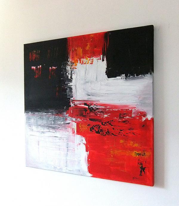 Quadri moderni astratti sanader art dipinti a mano for Dipinti a mano moderni