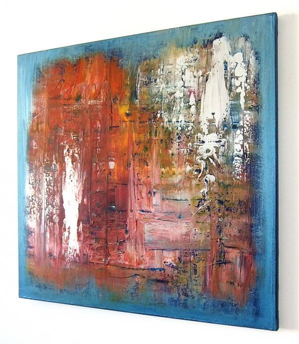 Quadri astratti fiori nella pittura astratta quadri for Tele dipinte a mano moderne