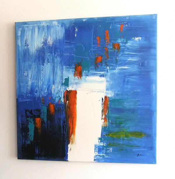 Quadri moderni astratti sanader art dipinti a mano for Tele dipinte a mano moderne