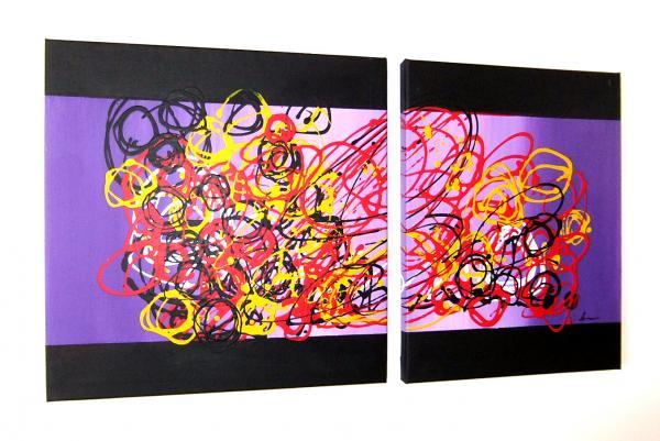 Pittura astratta sanader art quadri ad olio moderni for Tele dipinte a mano moderne