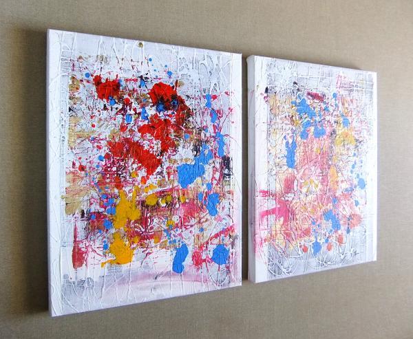 Quadri ad olio quadri astratti moderni sanader art for Tele dipinte a mano moderne