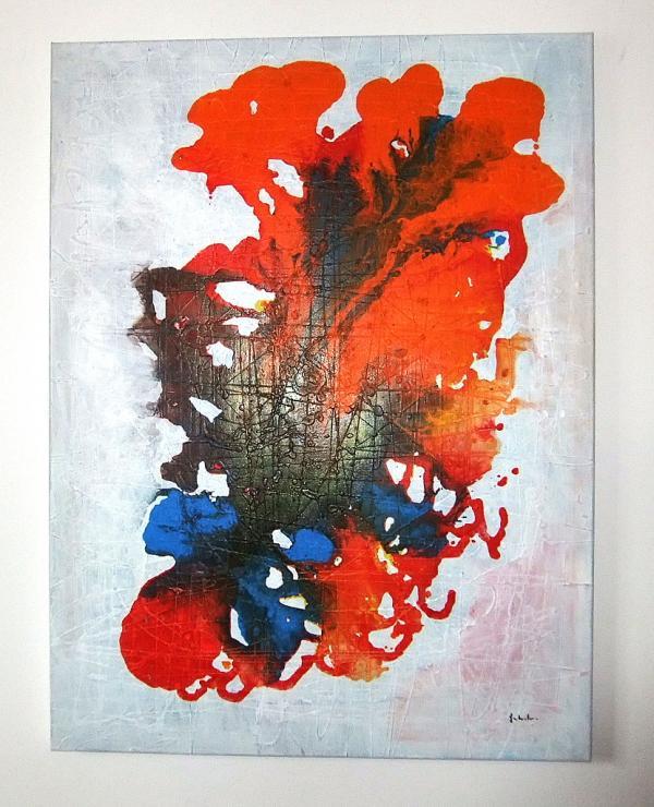 Pittura astratta pittura astrat quadri astratti arte for Tele dipinte a mano moderne