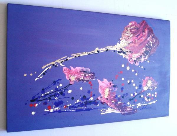 Ebay quadri astratti sanader art pittura astratta for Tele dipinte a mano moderne