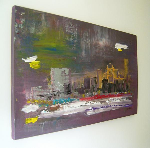 "Quadri moderni in rilievo "" SANADER ART ""pittura astratta moderna ..."