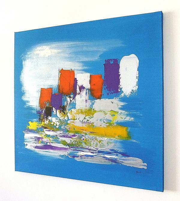 Quadri dipinti ad olio sanader art paesaggi marini for Tele dipinte a mano moderne