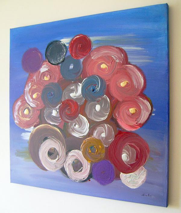 Quadri moderni per arredamento sanader art pittura for Tele dipinte a mano moderne