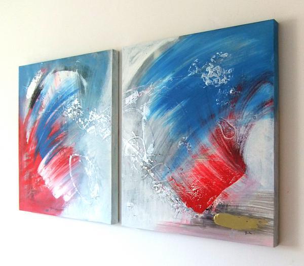 Quadri astratti su tela sanader art quadri a olio for Tele dipinte a mano moderne