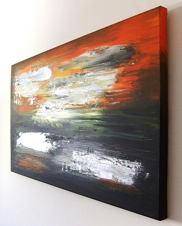 Dipinti astratti sanader art tecnica quadri astratt for Quadri pittura astratta