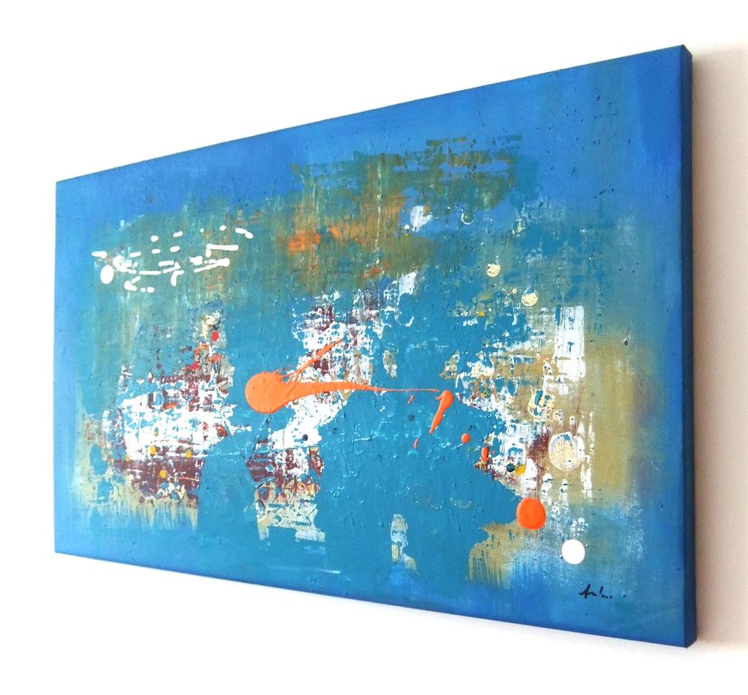 "QUADRI ASTRATTI MODERNI "" SANADER ART "" DIPINTI A MANO, pittura astratta moderna, dipinti a mano ..."